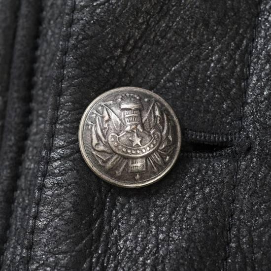 Balmain Balmain Leather Shearling Fur Parka Black Size Small 46-48 Coat Military Size US S / EU 44-46 / 1 - 7