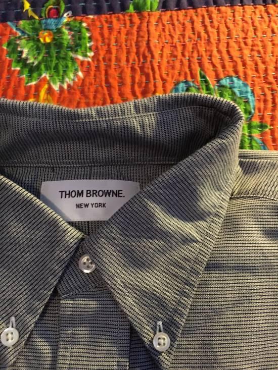 Thom Browne Thom Browne Grey Stripe Shirt Size US XL / EU 56 / 4