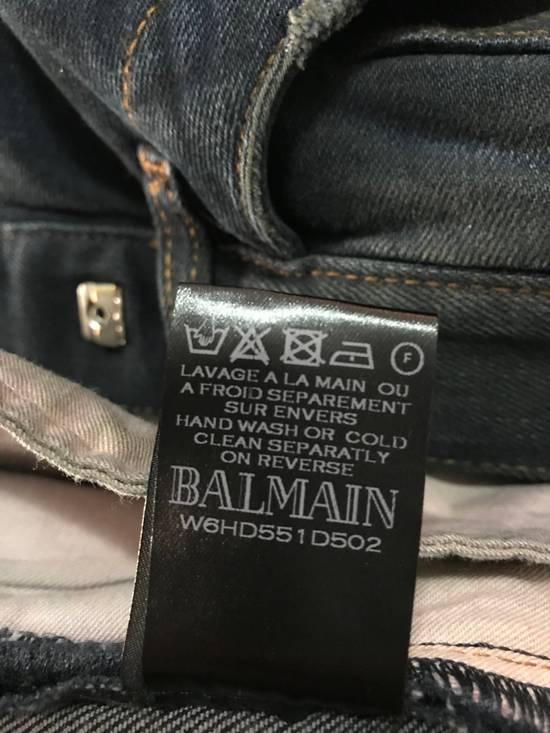 Balmain PRICED TO SELL!! Size 30 Blue Biker Jeans Balmain Size US 30 / EU 46 - 8
