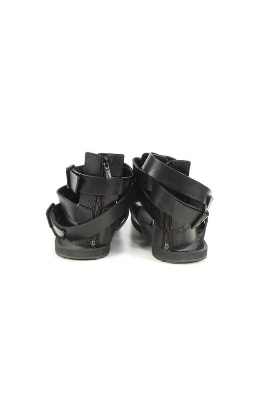 Givenchy Givenchy Black Leather Gladiator Sandals Size US 11 / EU 44 - 3
