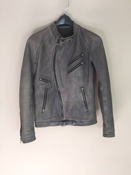Julius SS08 Grainy Buffalo Riders Jacket Size US XS / EU 42 / 0