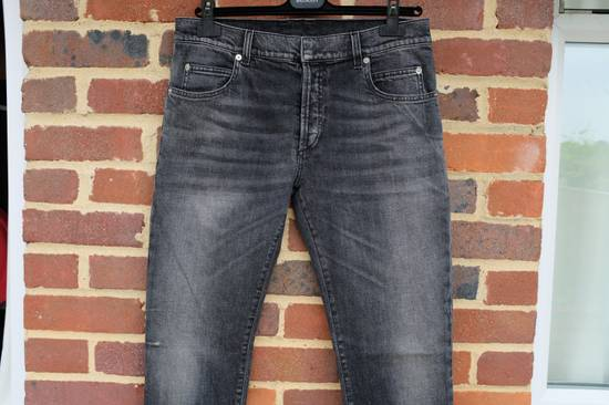 Balmain Black Stonewashed Jeans Size US 30 / EU 46 - 4