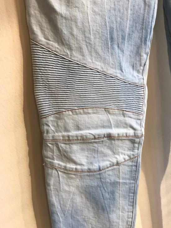 Balmain Biker Jeans SS18 Size US 32 / EU 48 - 4