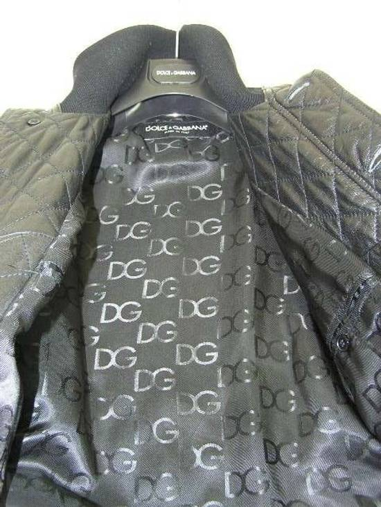 Givenchy Men's Dolce & Gabanna Quilted Leather Bomber Jacket Size 48 Size US M / EU 48-50 / 2 - 11