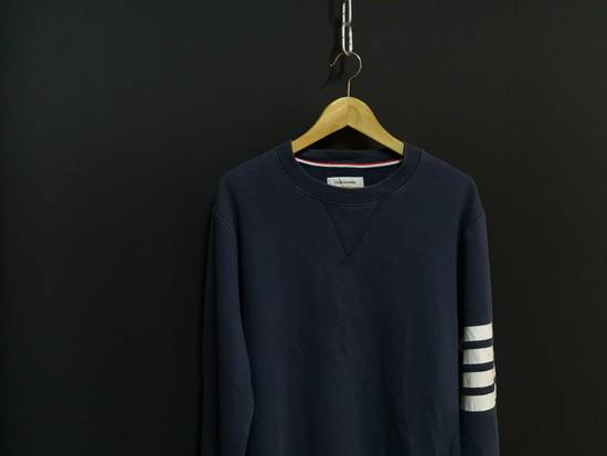 Thom Browne USA classic stripes navy sweatshirt Size US M / EU 48-50 / 2 - 1