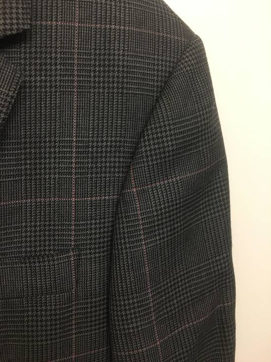 Thom Browne Thom Browne Prince of Wales w/ Red/White Overcheck Size 00 Size 34S - 2