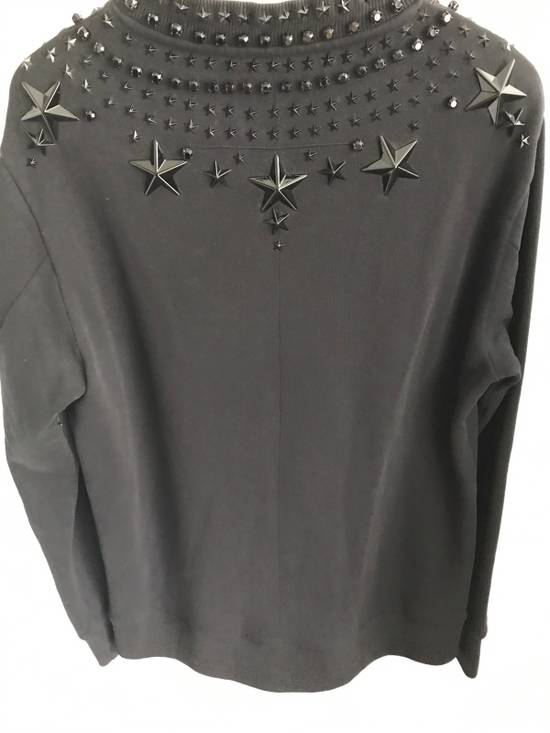 Givenchy 12FW Crystal and Metal Stars Sweatshirt Size US XS / EU 42 / 0 - 6