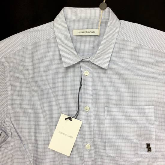 Balmain Micro Check Button Down Shirt NWT Size US S / EU 44-46 / 1 - 4