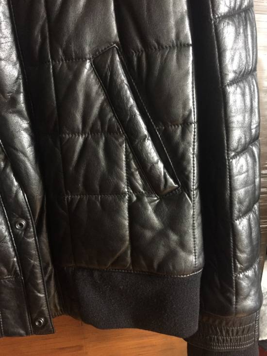 Balmain Balmain Homme Rare Leather Puffer List $6590 Size US S / EU 44-46 / 1 - 4