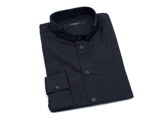 Givenchy Givenchy Men's 100% Cotton Black Button Down Size US S / EU 44-46 / 1