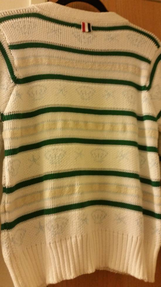 Thom Browne 16 Ss wool mohair fish cardigan Size US M / EU 48-50 / 2 - 2