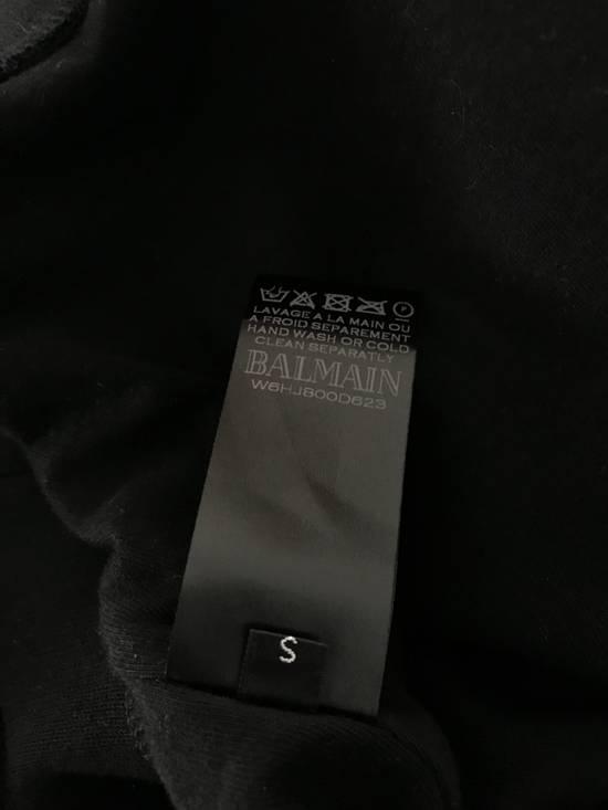 Balmain Size Small - Checked Button Shoulder Sweatshirt- FW16 - $1050 Retail Size US S / EU 44-46 / 1 - 5