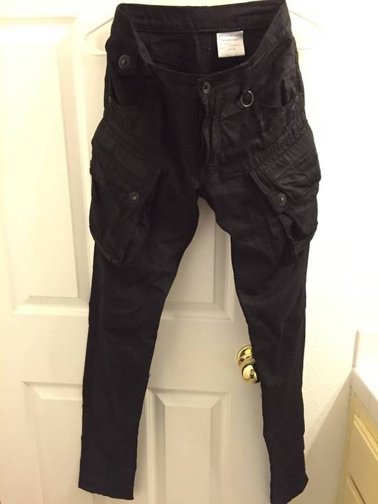 Julius Julius Waxed Denim Gas Mask Cargos Size US 28 / EU 44
