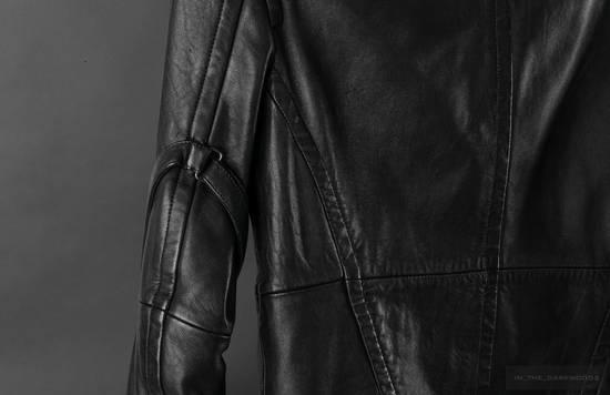 Julius = last drop = 2008SS ram leather jacket Size US M / EU 48-50 / 2 - 6
