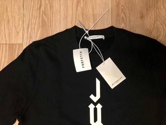 Givenchy Cuban-Fit Judas Slogan Sweatshirt Size US S / EU 44-46 / 1 - 1
