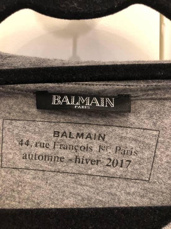Balmain Balmain tee Grey logo Size US S / EU 44-46 / 1 - 1