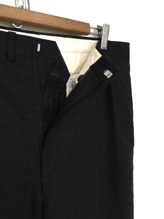 Givenchy FW10 Black Baggy Oversized Wool Trousers Pants Size US 36 / EU 52 - 5