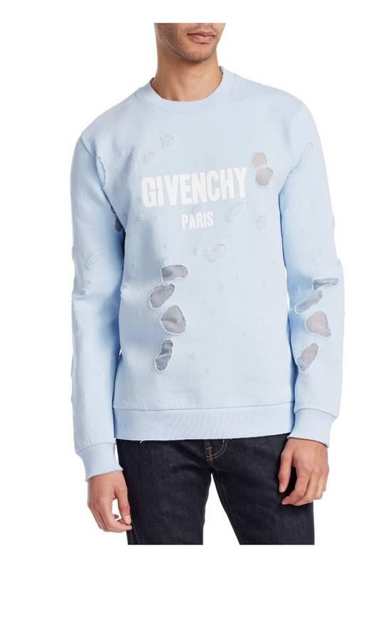 Givenchy Givenchy Distressed Logo Crewneck Size US M / EU 48-50 / 2