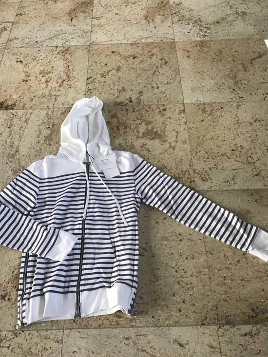 Balmain Stripe White & Grey Hoodie Size US S / EU 44-46 / 1 - 9