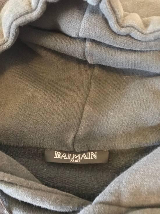 Balmain Side ZIP Hoodie with Badges Size US S / EU 44-46 / 1 - 4