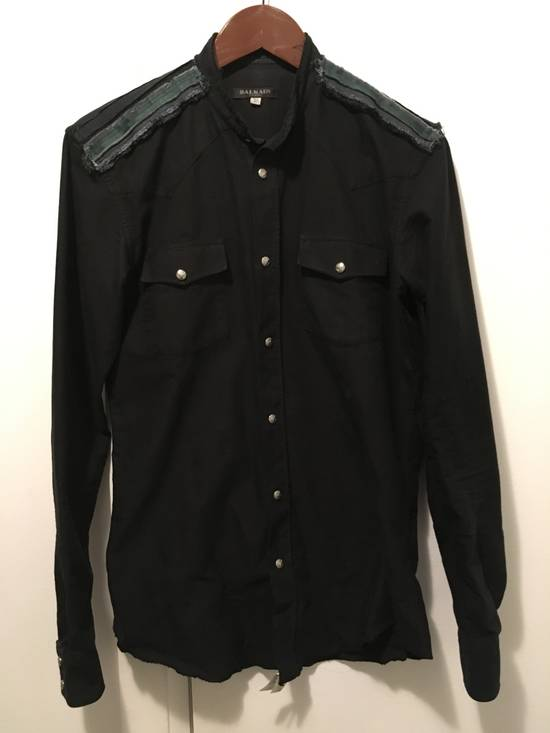 Balmain FW12 Cut Collar Shirt Size US XS / EU 42 / 0