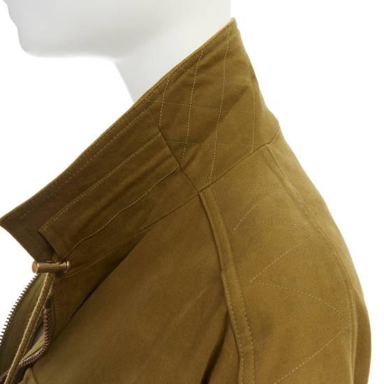 Balmain BALMAIN Pre14 army green stretch military zip up oversized jacket FR40 US8 UK12 Size US M / EU 48-50 / 2 - 12