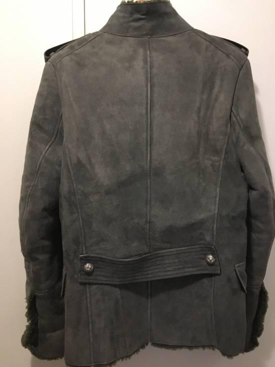 Balmain Shearling Military Coat Size US S / EU 44-46 / 1 - 8