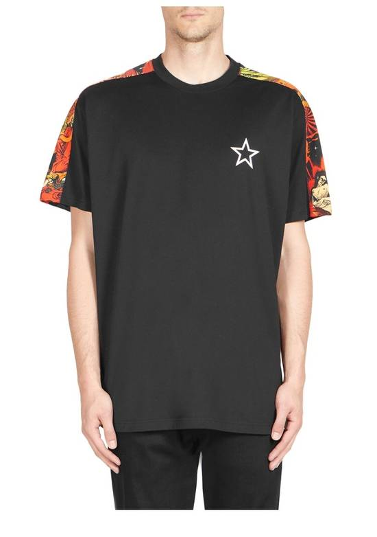 Givenchy Givenchy Cuban Fit Hells Fire T Shirt Size US M / EU 48-50 / 2