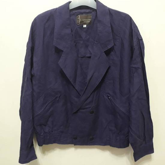 Givenchy Vtg Givenchy Gentleman Paris Linen Blazer Coat Jacket Luxury Top Designer Fashion Made in Italy good condition Size 46R