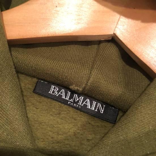 Balmain Balmain Side Zip Hoodie Olive Size US M / EU 48-50 / 2 - 2