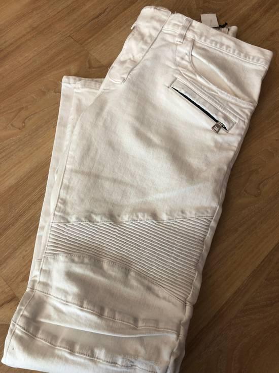 Balmain NWT, THE BEST! Biker Jeans (WAS $1650) - RUNS SMALLER Size US 36 / EU 52 - 5
