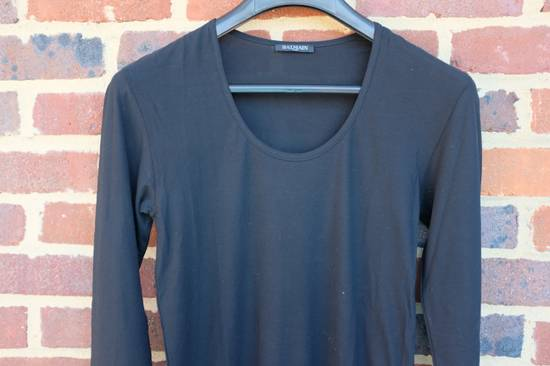 Balmain Black Ribbed Knit Long Sleeve T-shirt Size US M / EU 48-50 / 2 - 4