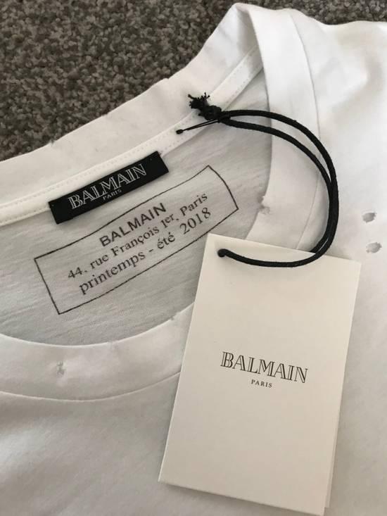 Balmain SS18 Logo Print T-Shirt Size US S / EU 44-46 / 1 - 3