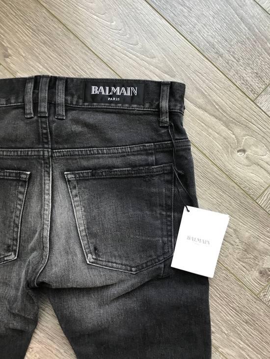 Balmain grey washed denim Size US 28 / EU 44 - 7