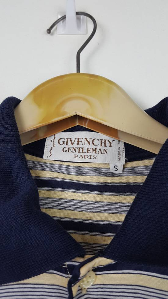 Givenchy Vintage GIVENCHY GENTLEMAN PARIS Stripes Polo Shirt Size US S / EU 44-46 / 1 - 1