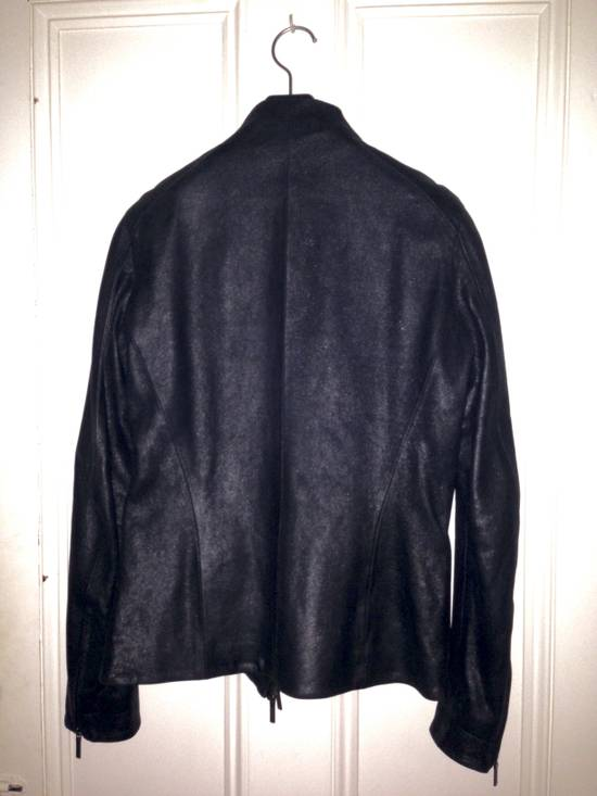 julius fencing leather jacket fw 09 size s leather