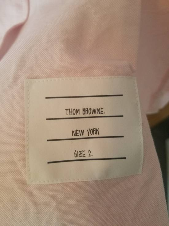 Thom Browne Pink Diagonal line Shirts SS17 Size US M / EU 48-50 / 2 - 4