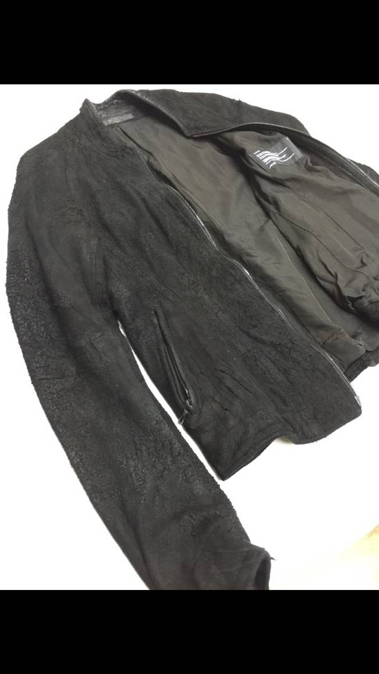 Julius Season Resonance F/W Iconic Hammered Lamb Leather Jacket Size US M / EU 48-50 / 2