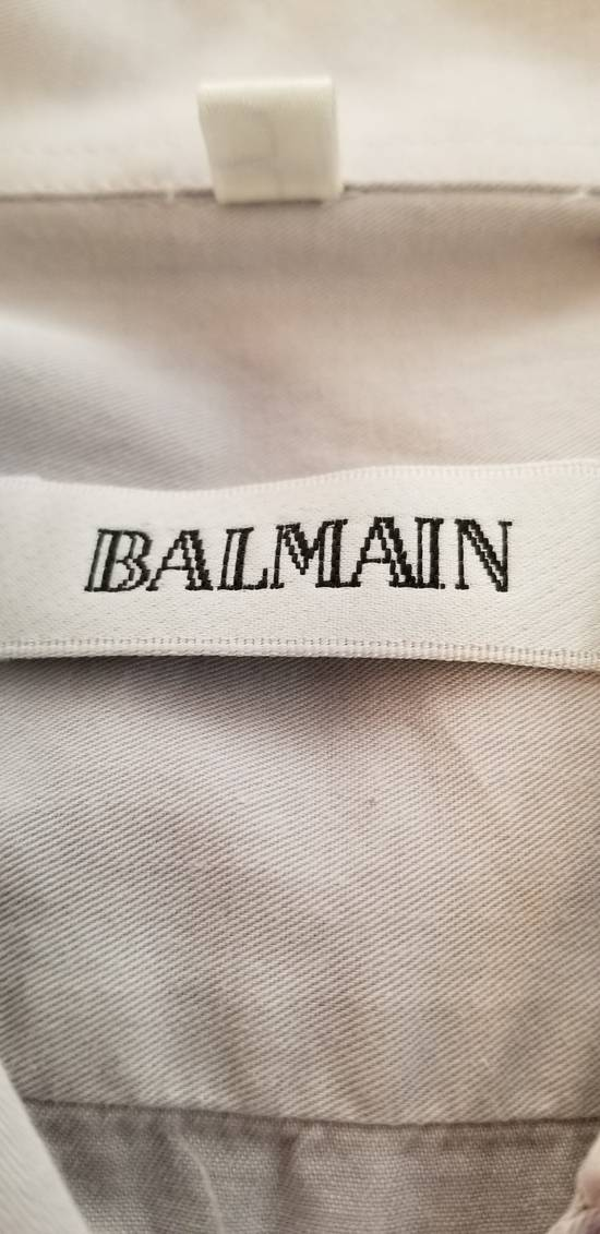 Balmain LAST DROP BEFORE DELETE! Vintage Balmain Paris Button Up Down Dress Shirt Size US XL / EU 56 / 4 - 3