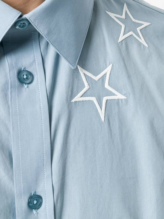 Givenchy Givenchy star embroidered blue shirt sz 38 Size US S / EU 44-46 / 1 - 1