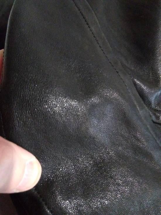 Julius Jut Neck Leather Jacket s/s08 Size US M / EU 48-50 / 2 - 16