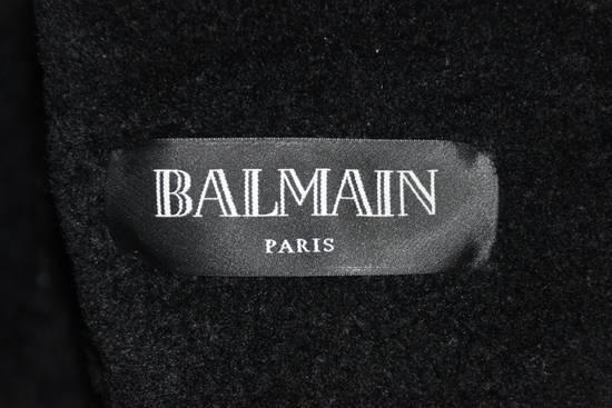 Balmain Balmain shearling leather biker jacket Size US L / EU 52-54 / 3 - 2