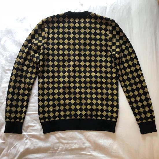 Balmain RARE RUNWAY Balmain Paris Black & Gold Wool Glitter Sweater Size US S / EU 44-46 / 1 - 2