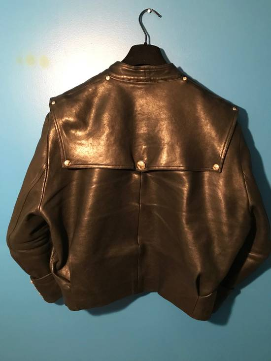 Balmain Lambskin Gold Button Detail Jacket Size US L / EU 52-54 / 3 - 9