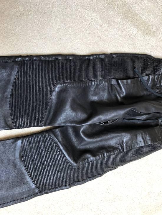 Balmain balmain leather pants Size US 29 - 2