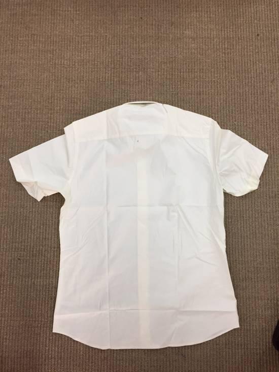 Givenchy Milk White Star Shirt Size US M / EU 48-50 / 2 - 3