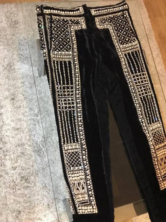 Balmain Balmain Fall 2012 Swarovski Crystal Fabergé Trouser Size US 32 / EU 48 - 3