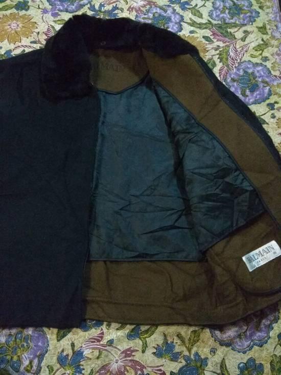 Balmain Vintage Jacket Wool With Fur BALMAIN Rare Size US L / EU 52-54 / 3 - 4