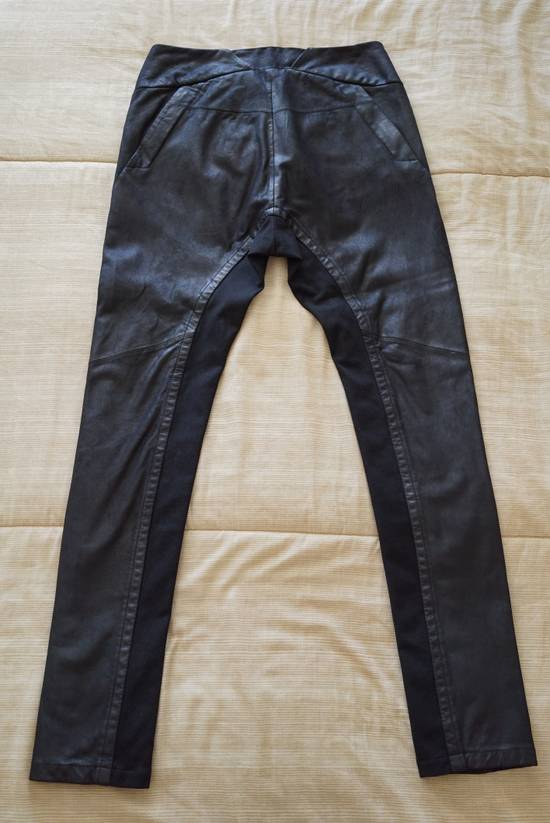 Julius Leather Paneled Biker Pants Size US 30 / EU 46 - 2