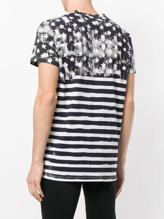 Balmain Flag Print T-shirt Size US L / EU 52-54 / 3 - 3